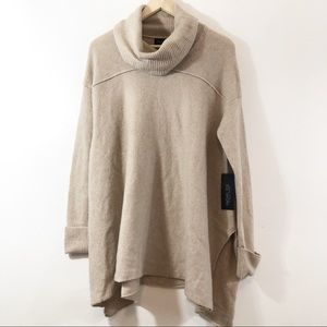 Rachel Zoe Cowl Neck Oversized Sweater NWT